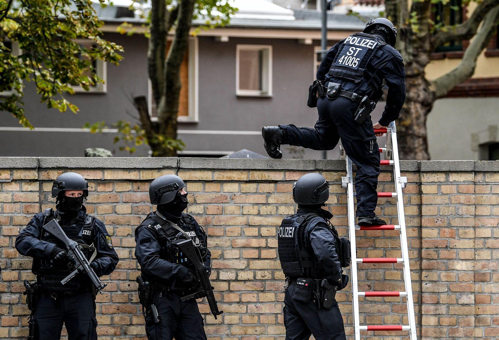 Polizei in Halle