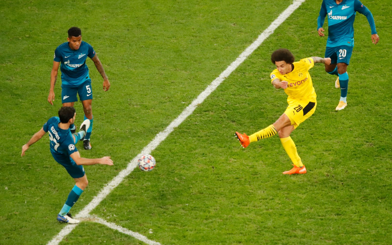 Champions League - Group F - Zenit Saint Petersburg v Borussia Dortmund