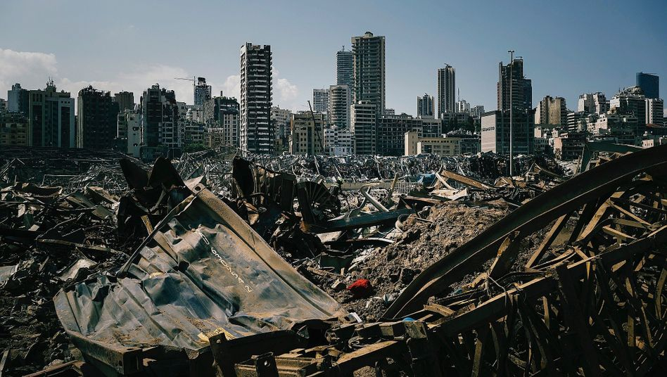 The destroyed Port of Beirut: There were plenty of warnings about the deadly ammonium nitrate, but nothing was done.
