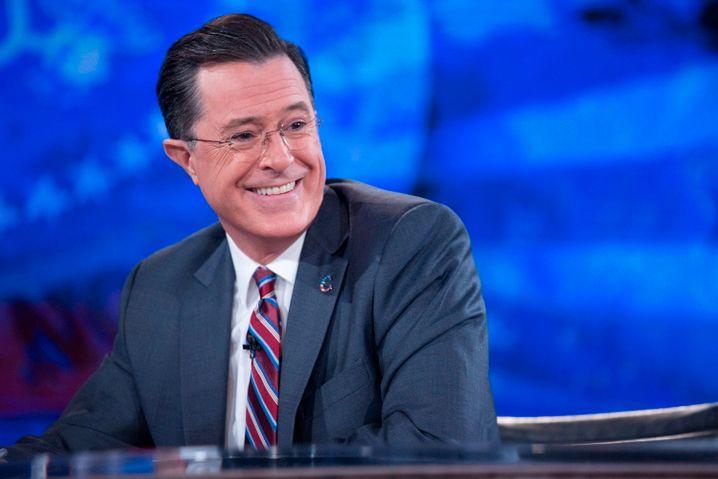 Moderator Colbert