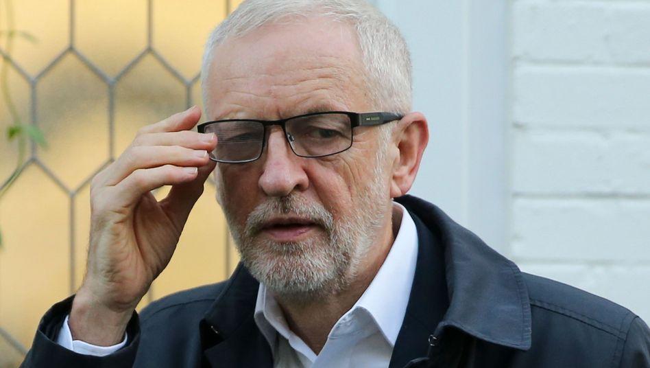 Labour-Chef Jeremy Corbyn: Glaubwürdigkeitsproblem