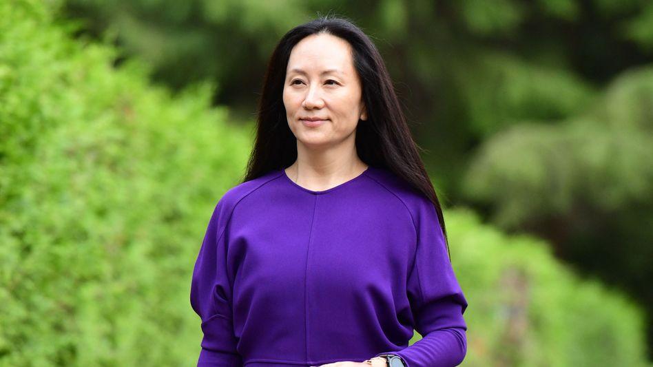 Huawei-Finanzchefin Wanzhou