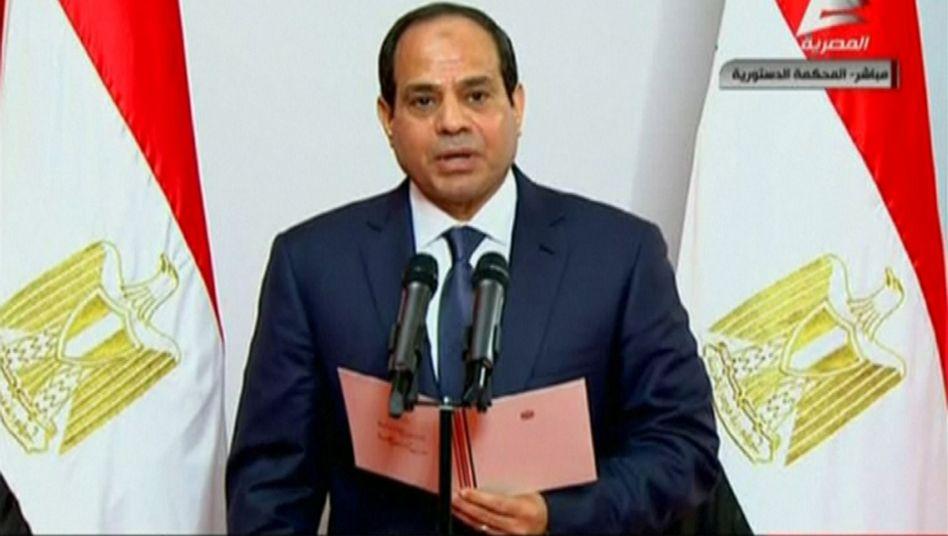 Ägypten: Machthaber Sisi als Präsident vereidigt