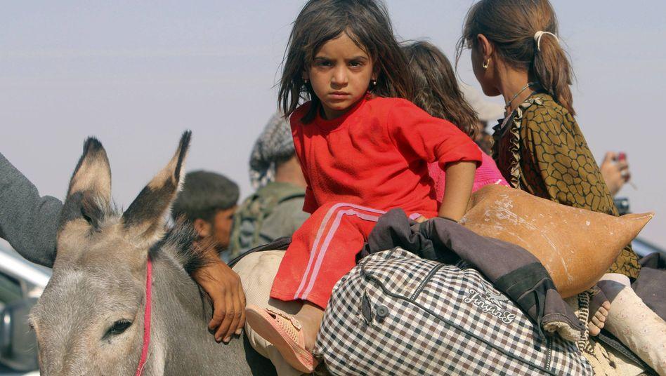 Jesiden auf der Flucht: Ihre Dörfer bleiben verwaist