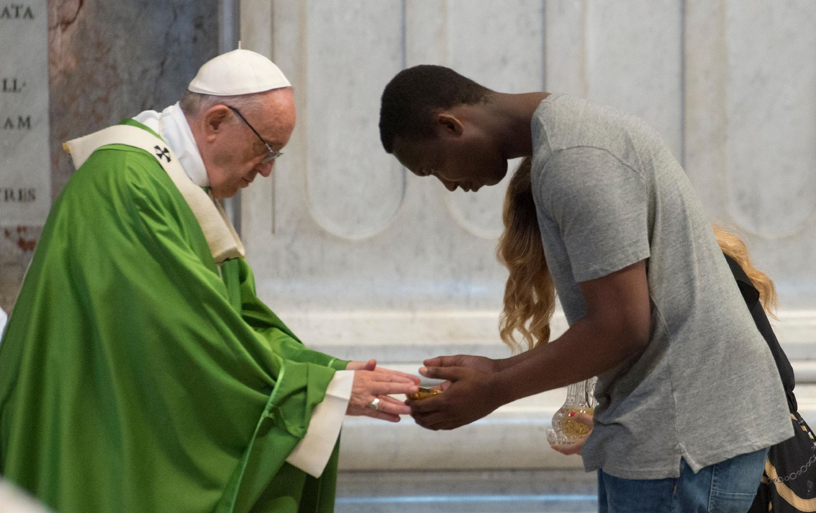 Papst Franziskus/ Migranten