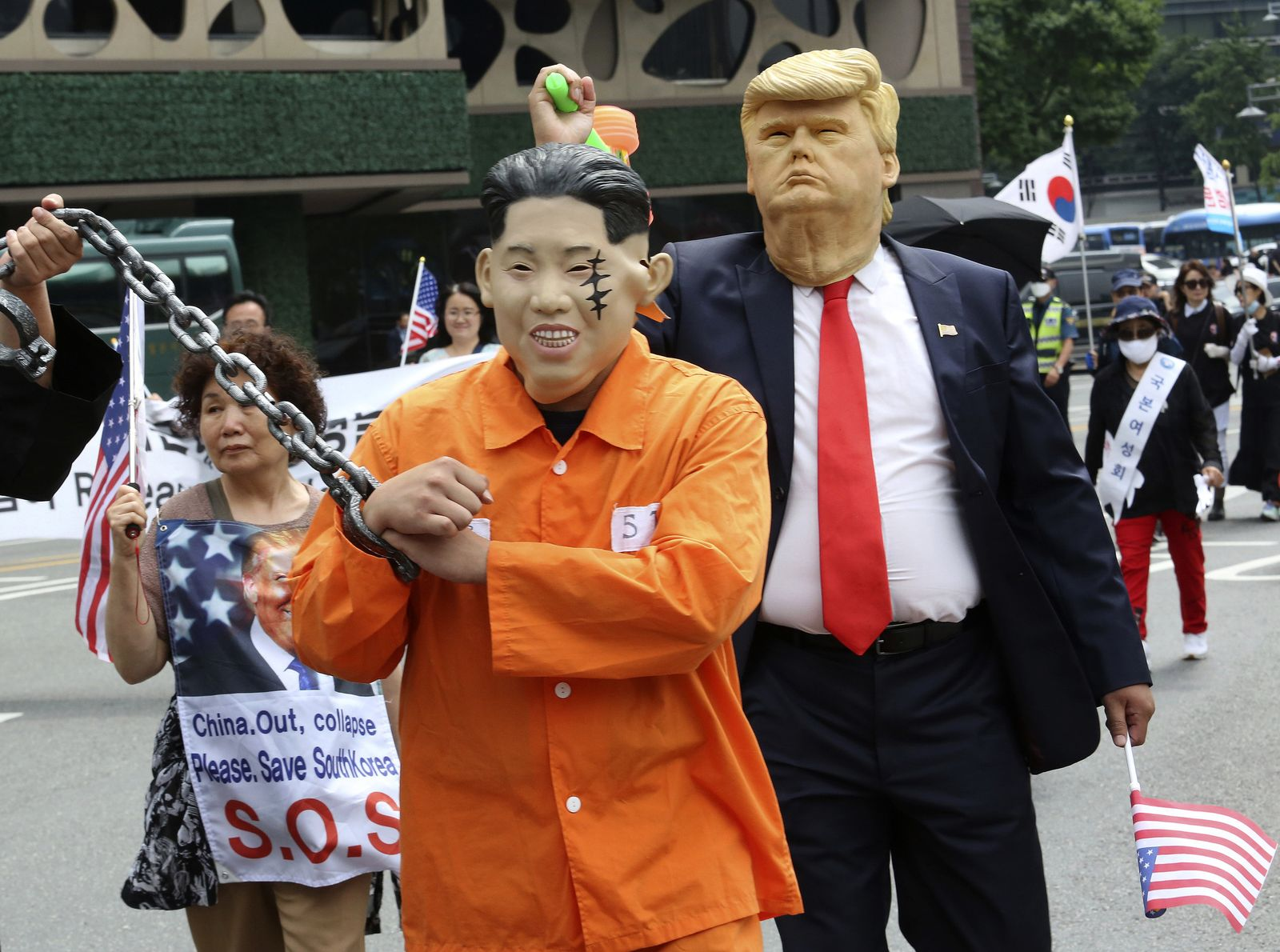 South Korea North Korea US Nuclear