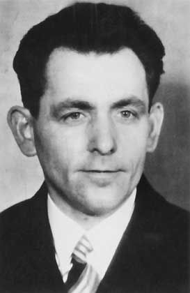 Johann Georg Elser in the 1930s.