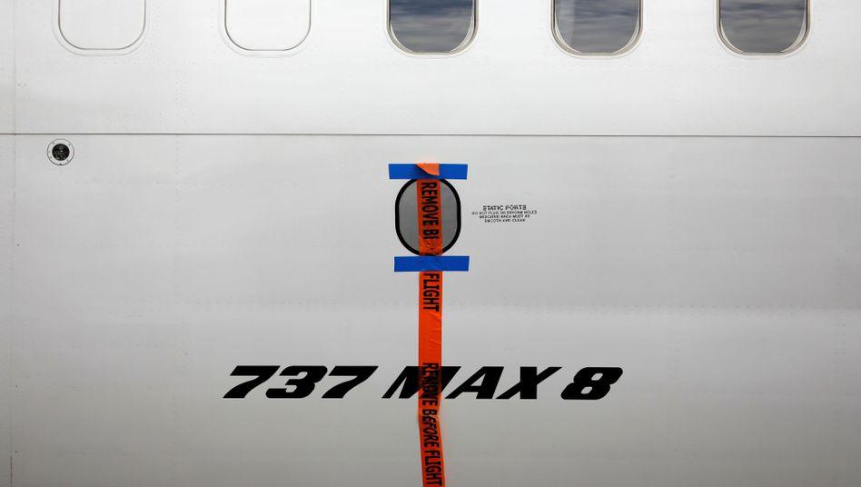 Indonesische Boeing 737 Max 8 (Symbolbild)