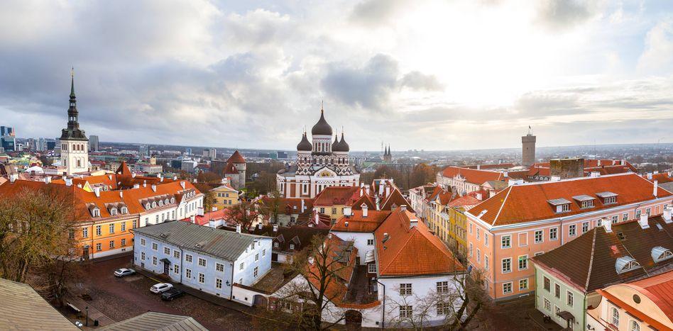 Estlands Hauptstadt Talinn
