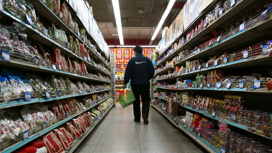 A supermarket in China's Shandong province: How much does GDP really tell us about the well-being of a society?