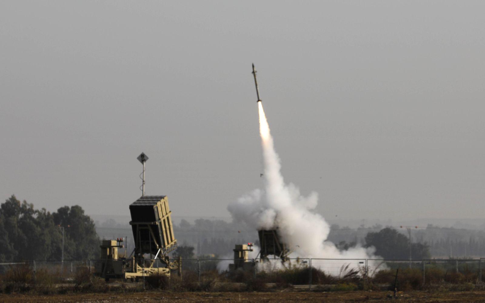 Israel Gaza Iron Dome Rakete