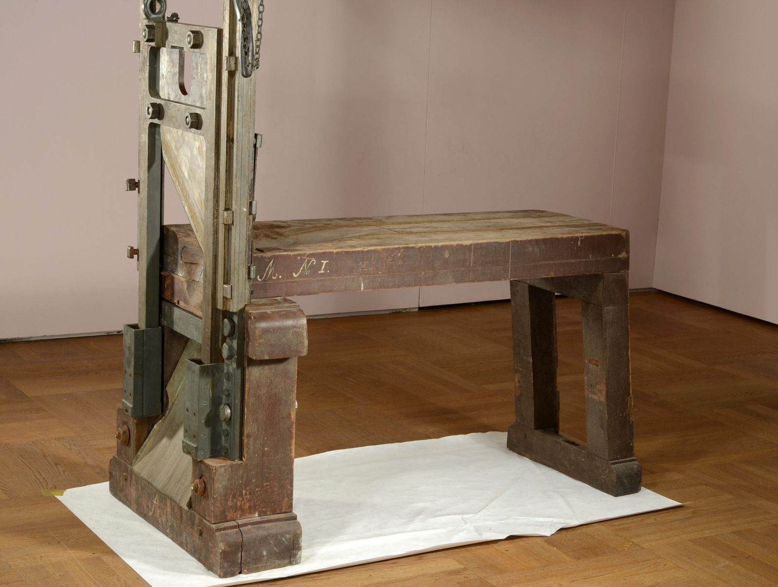 Guillotine of the Scholl siblings