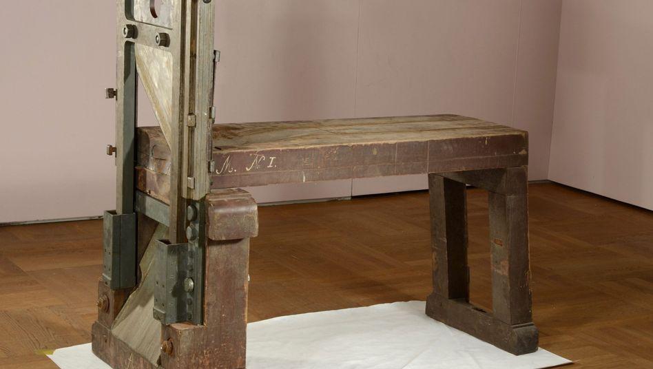 """Fallbeil im Bayerischen Nationalmuseum: """"Fund von singulärer Bedeutung"""""""