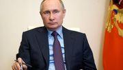 Putin erhält erste Spritze gegen Corona