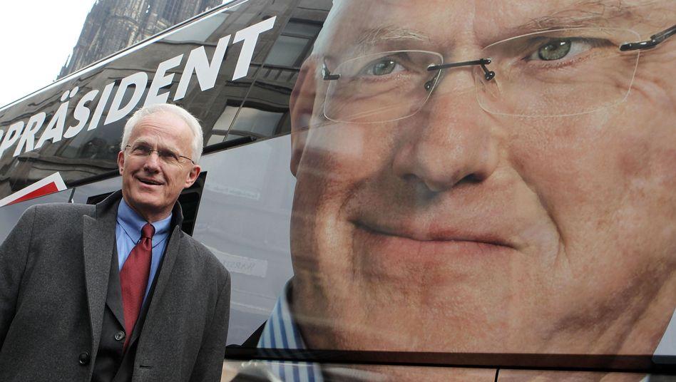 Jürgen Rüttgers: Er will Ministerpräsident bleiben, aber der Vorsprung vor der SPD ist nur noch hauchdünn