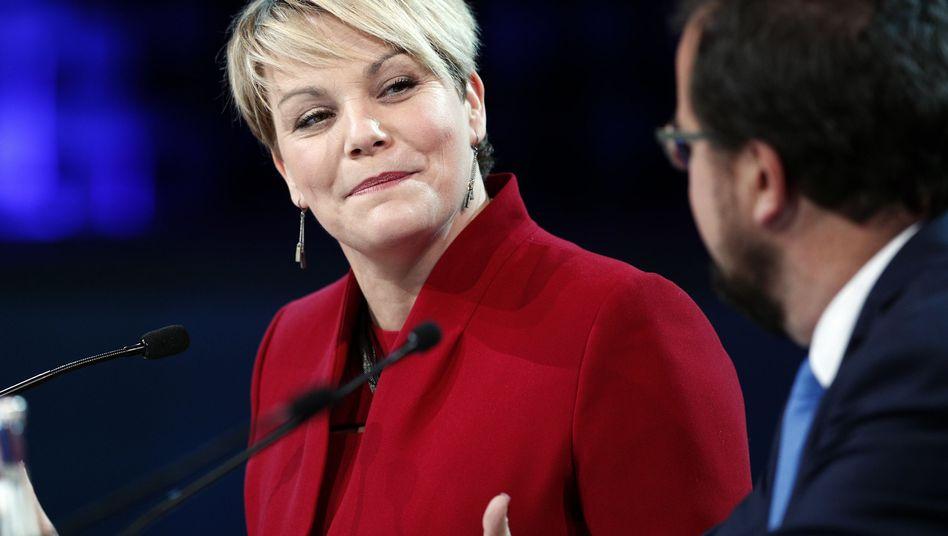 Isabelle Melançon, Umweltministerin der kanadischen Provinz Quebec, am Dienstag auf dem Pariser Gipfel