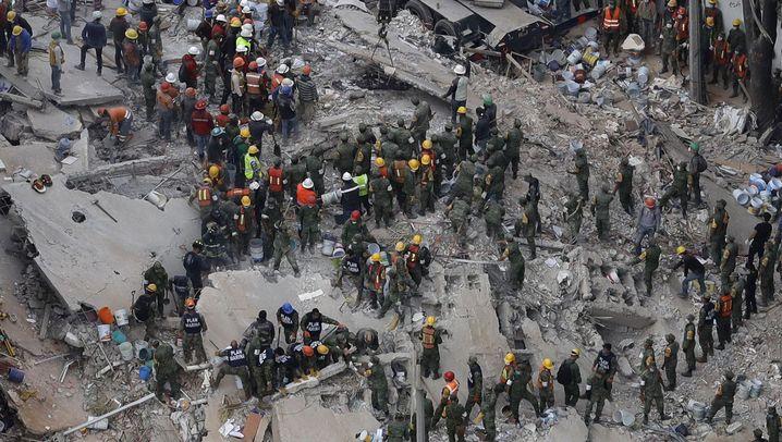 Erdbeben in Mexiko: Der Tag nach der Katastrophe
