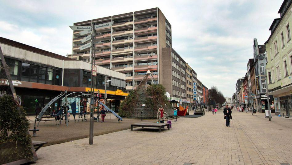 Fußgängerzone in Oberhausen
