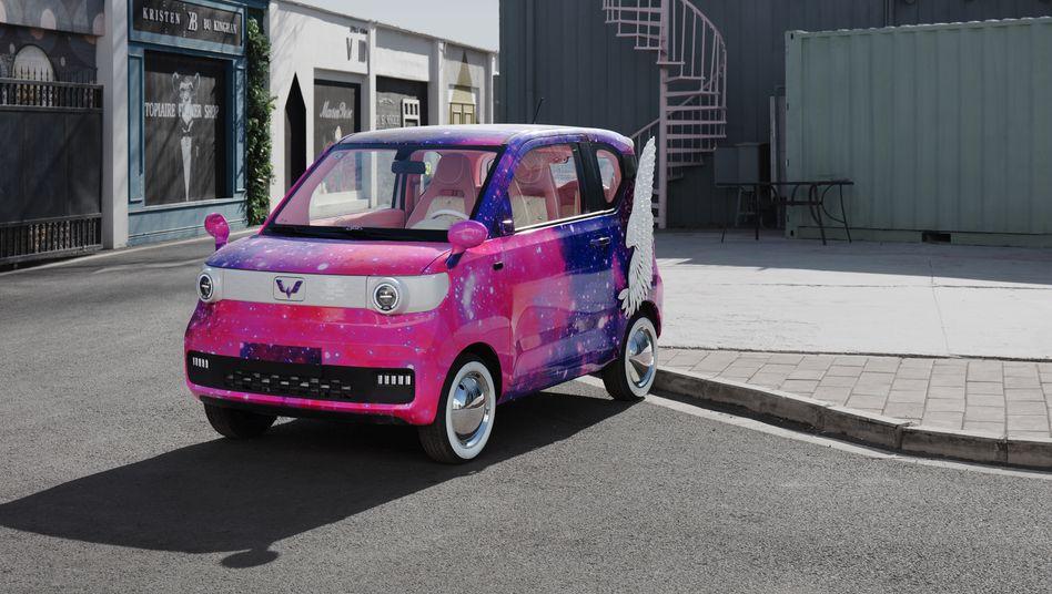 Klein, aber oha: Das Wuling Mini EV