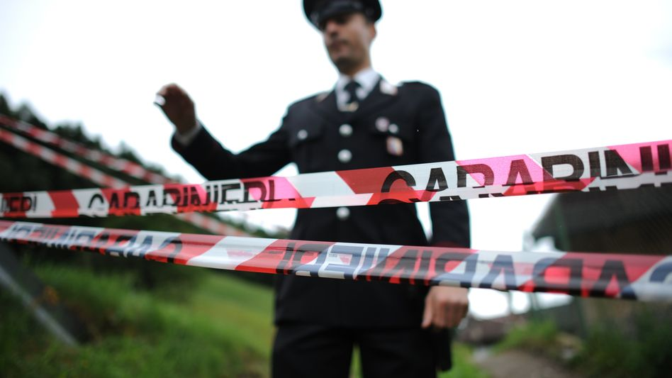 Italienische Polizei (Archivbild): Schlag gegen die Mafia