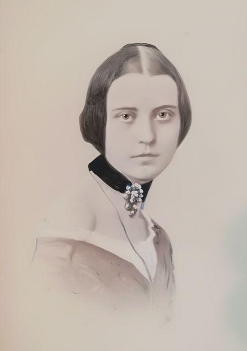 Wilhelmine von Schack: Eine junge Frau mit eigenen Werken – ganz unüblich zu dieser Zeit