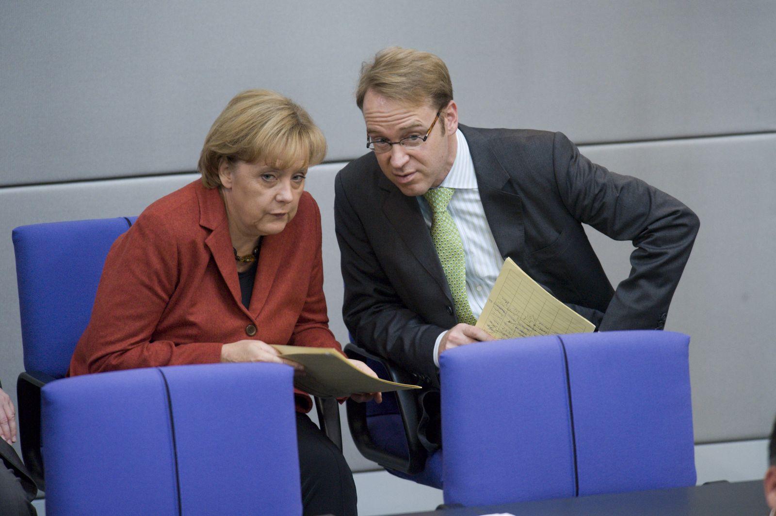 Kanzlerin Merkel, Mitarbeiter Weidmann