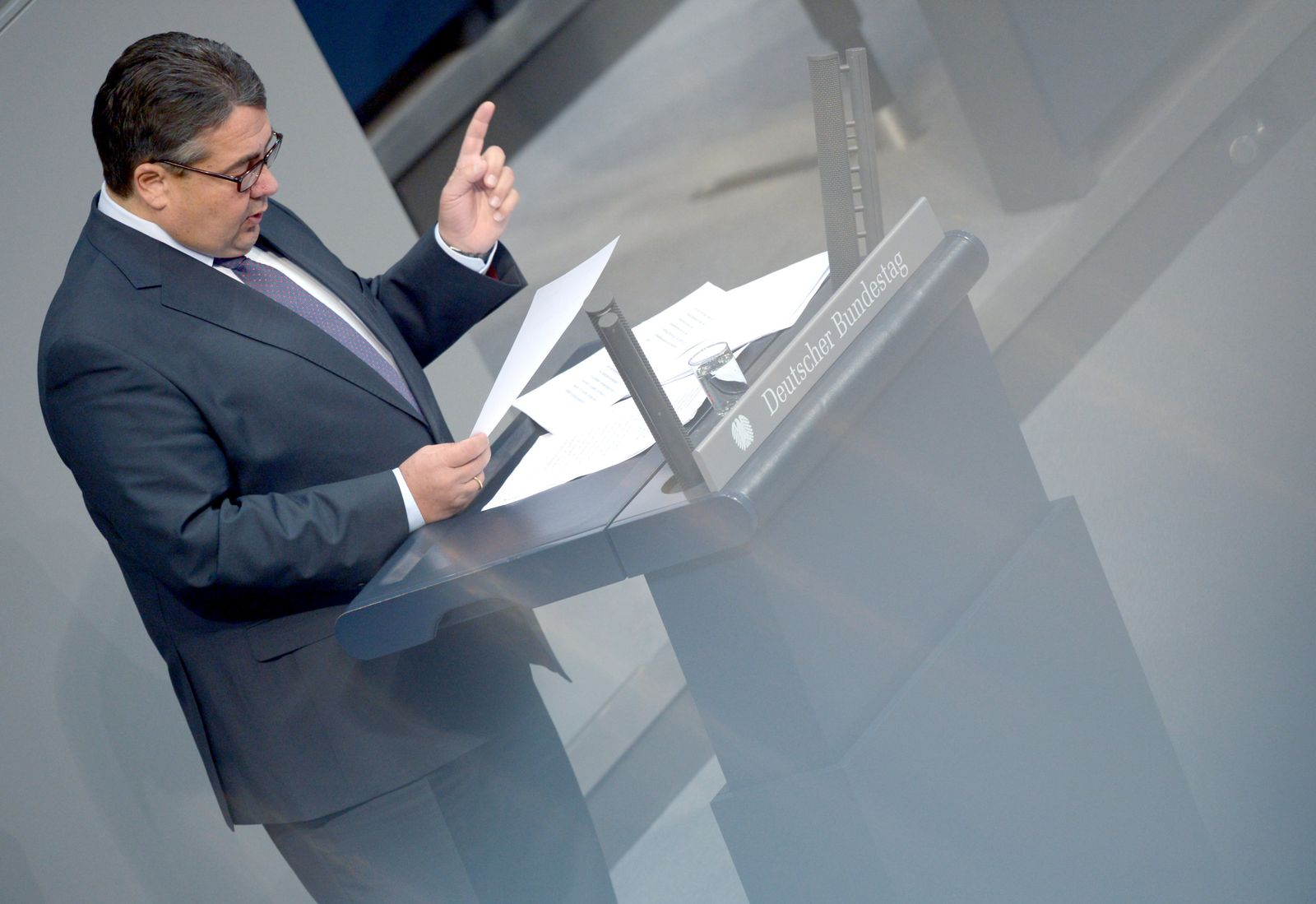 Bundestag - Debatte Freihandelsabkommen