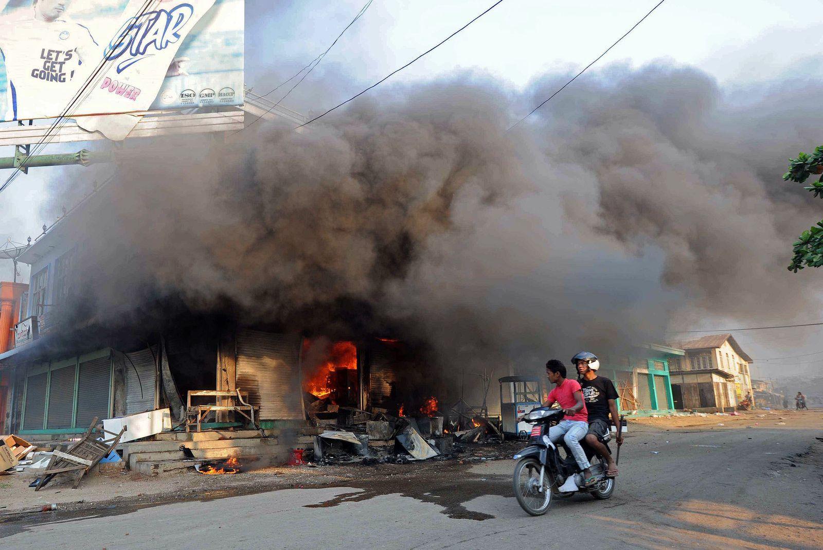 Unruhen Birma