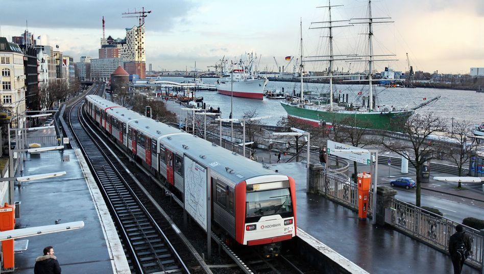 U-Bahn der Hamburger Hochbahn
