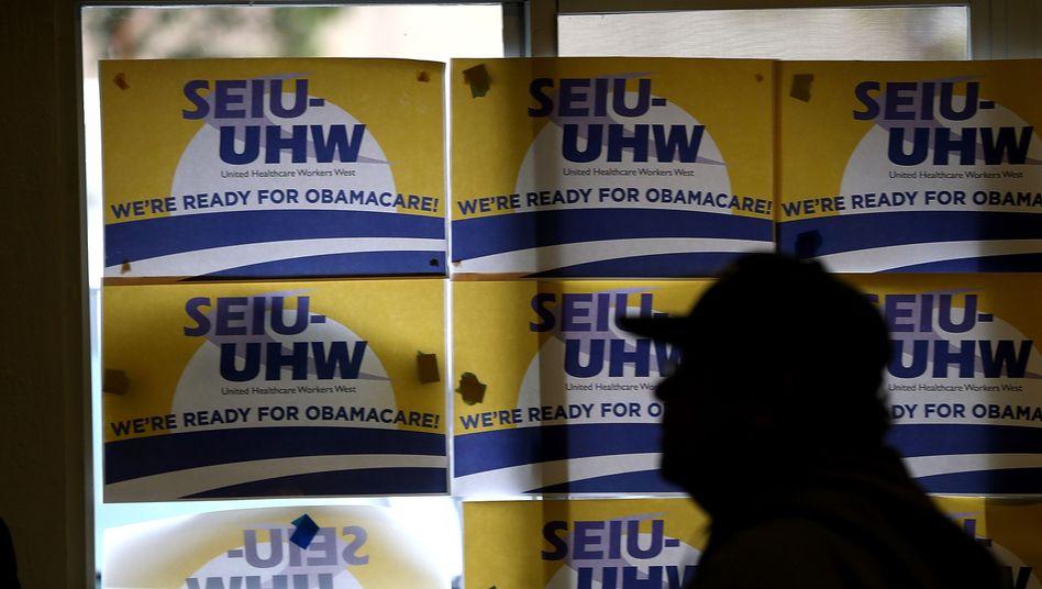 """Werbung für """"Obamacare"""" in Kalifornien: Sieben Millionen Anmeldungen"""