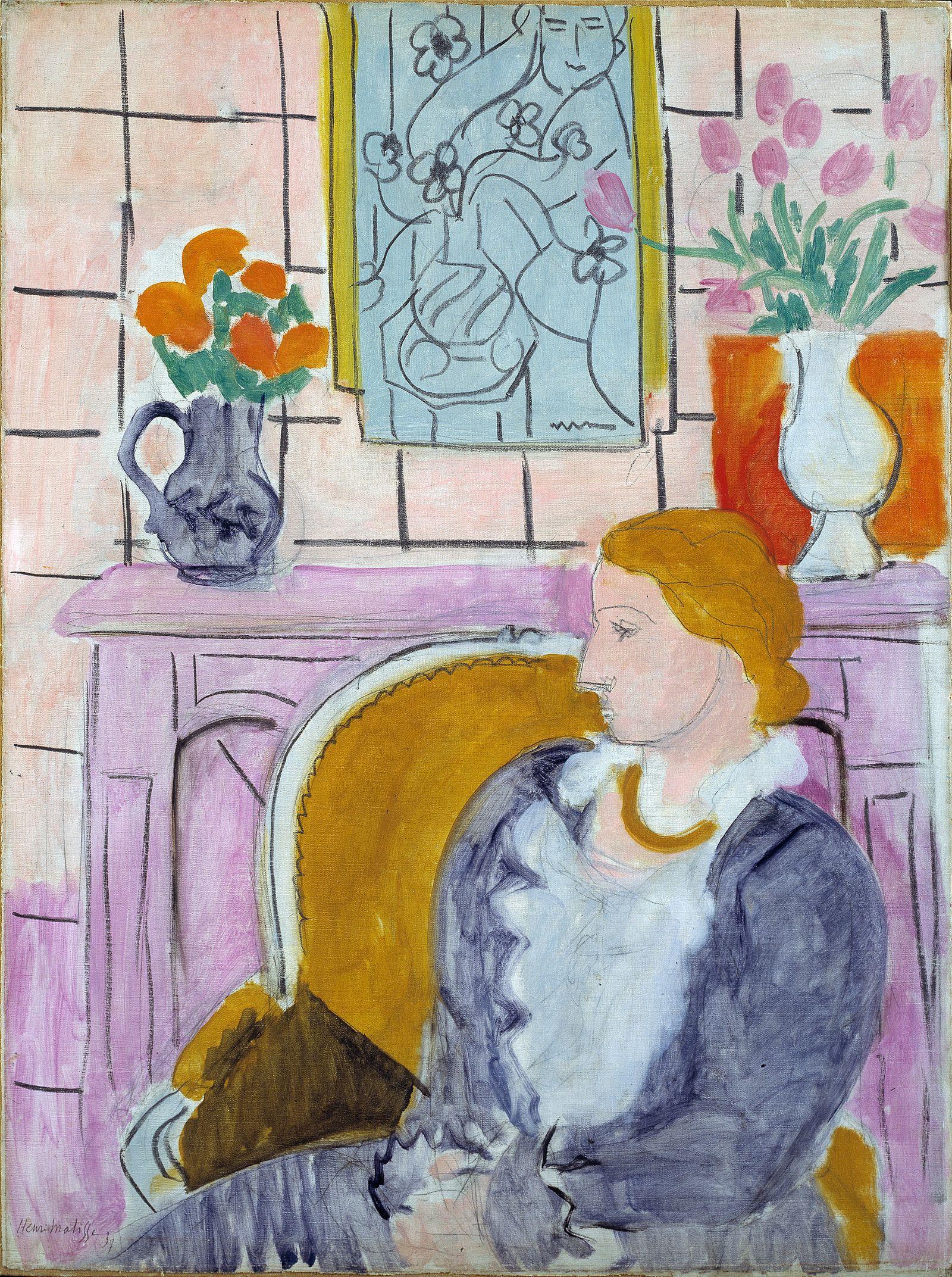EINMALIGE VERWENDUNG Matisse/ Rückgabe