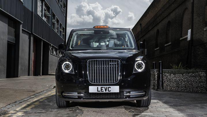 Autogramm Elektrisches London-Taxi: Das Geschäft summt