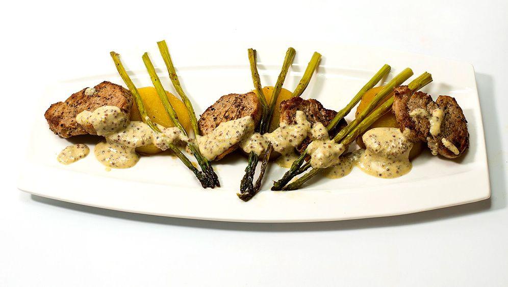 Wagner-Rezept: Fondkartoffeln mit Filet und Senfsoße