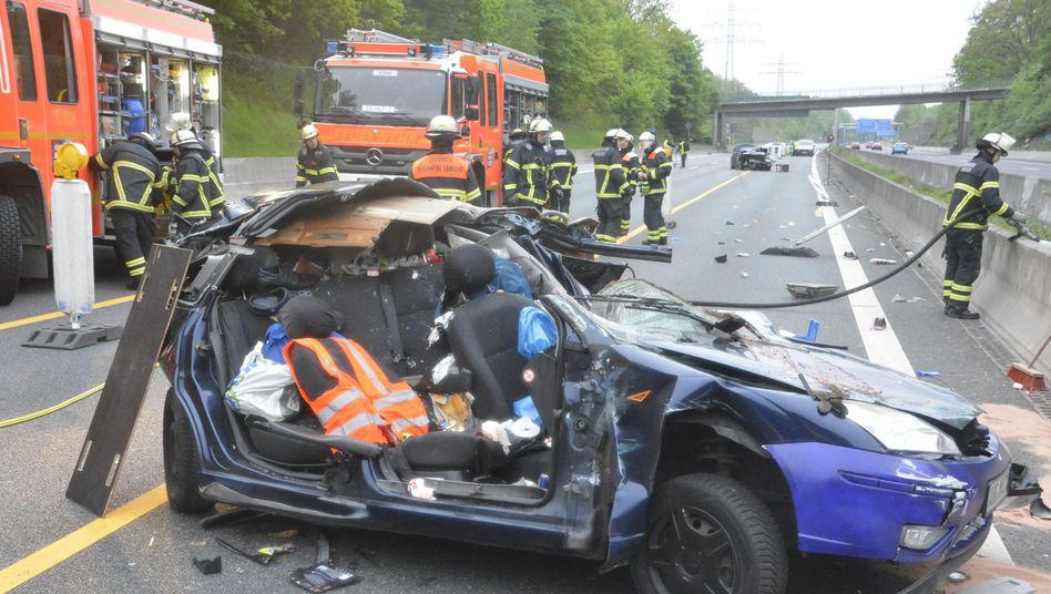 Tödlicher Unfall auf der A1 bei Hamburg