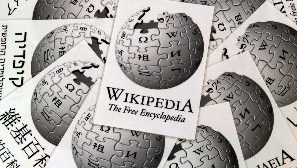 Wikipedia-Logo: Eine ausreichende Versorgung mit Informationen
