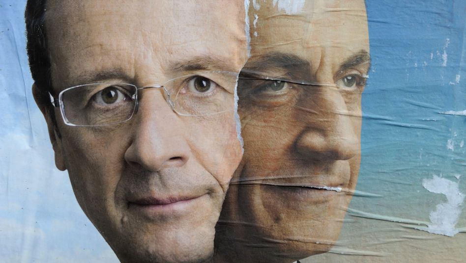 The first round of the French presidential election is on April 22.