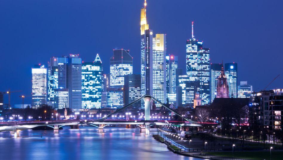 Skyline von Frankfurt: Hessen zahlte 2014 mehr Geld an arme Bundesländer