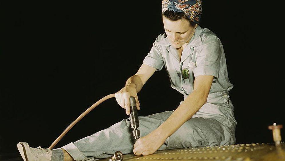 Weltkriegs-Propaganda: Glamour in den Fabriken