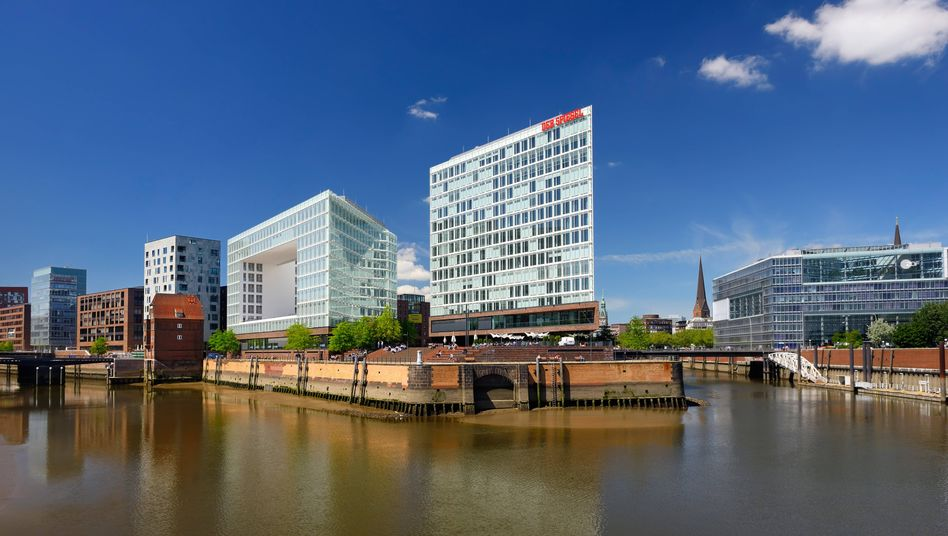 DER SPIEGEL's headquarters in Hamburg, Germany: The newsmagazine filed a complaint Friday with the country's federal prosecutor after discovering it had been US spying target.