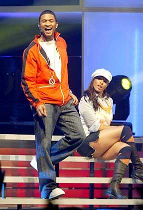 """R&B-Star Usher: """"Wenn Gott dir die Möglichkeit gibt loszulaufen, wirst du dann einfach rumstehen?"""""""