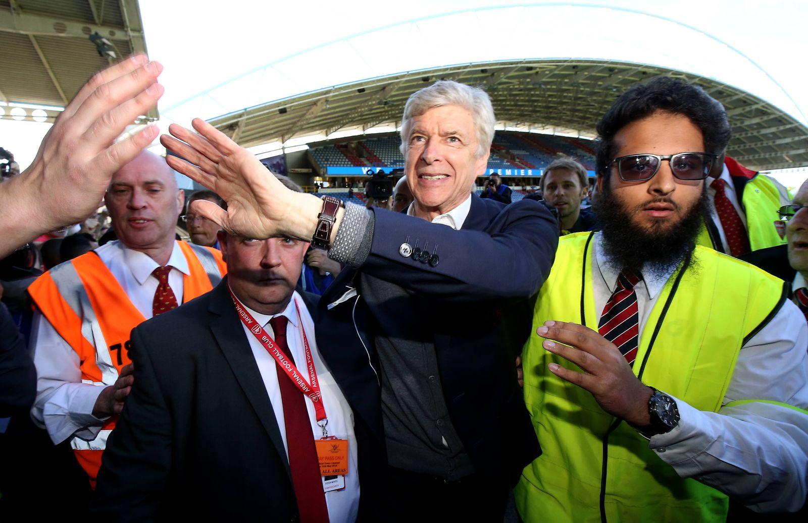 Huddersfield Town v Arsenal Premier League John Smith s Stadium Outgoing Arsenal manager Arsene