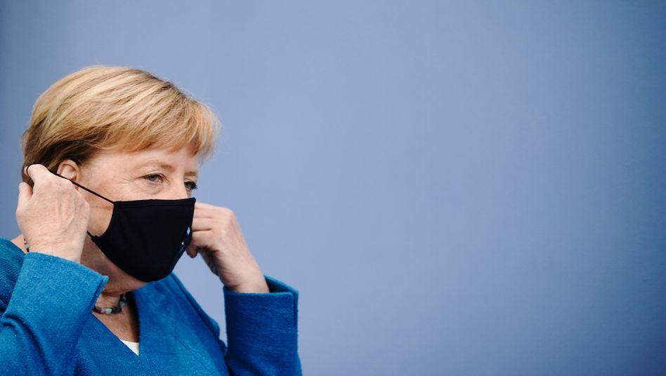 CDU-Politikerin Merkel