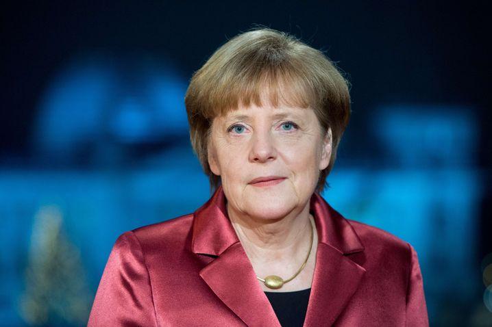 Merkel bei Neujahrsansprache: Kritik an Pegida
