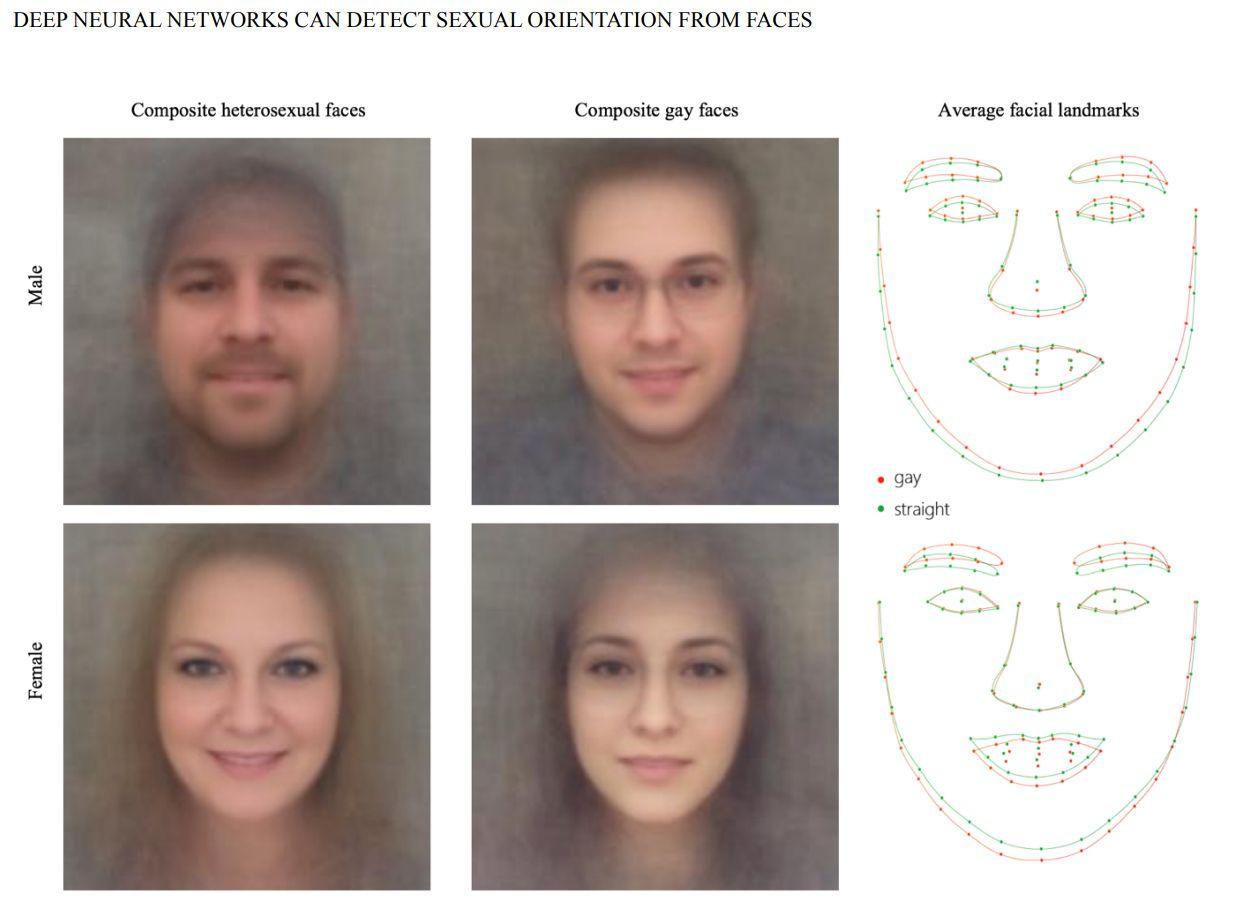 EINMALIGE VERWENDUNG Detektor/ Gesichtserkennung/ Sexuelle Orientierung
