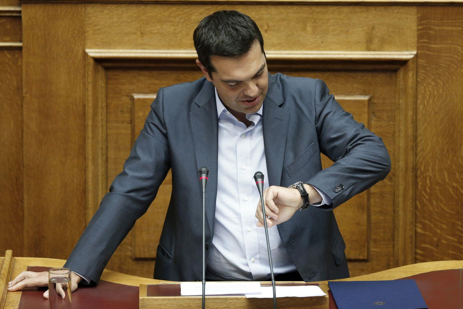 Alexis Tsipras Uhr