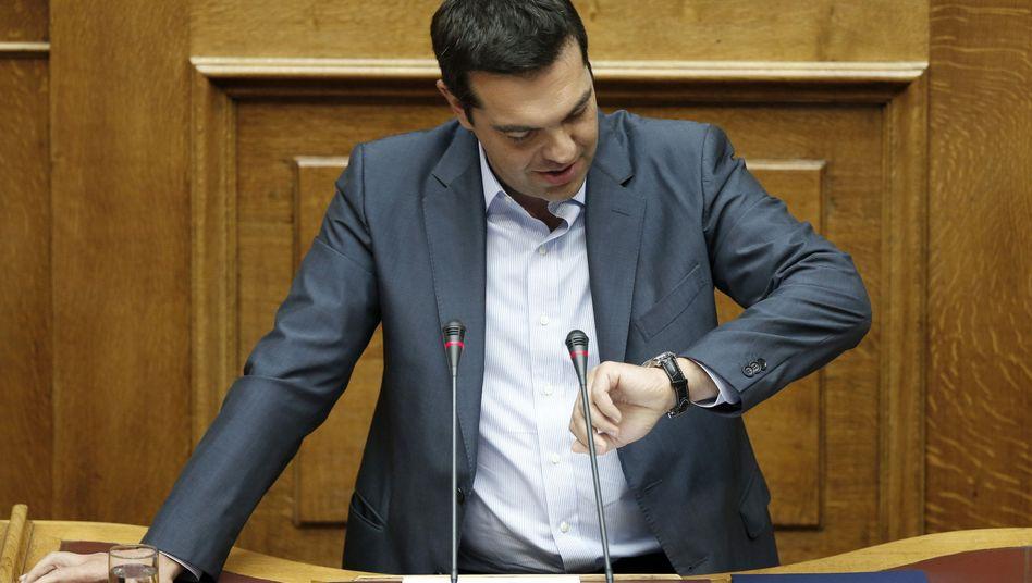 Premier Tsipras: Wie lange bleibt er noch im Amt?