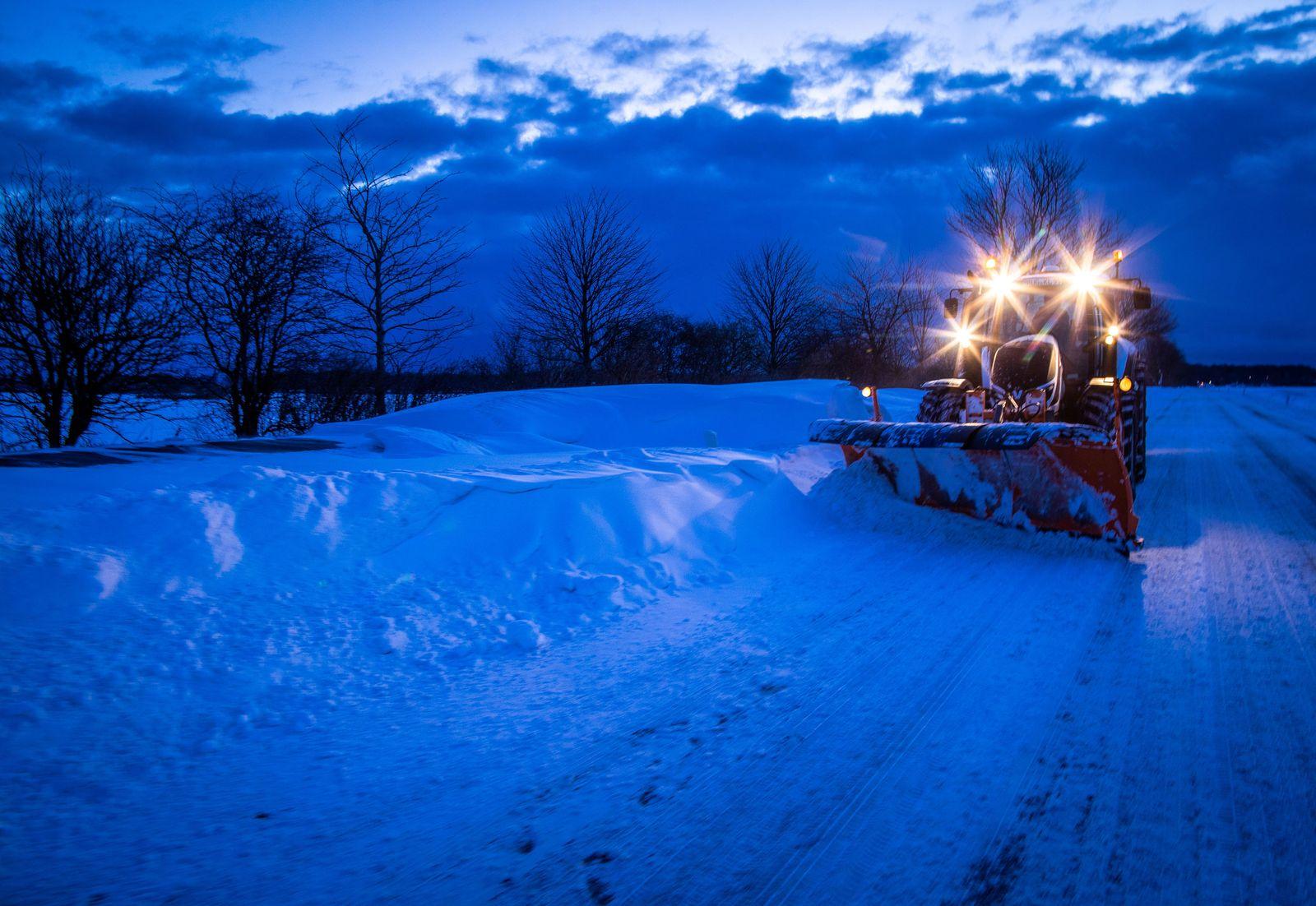 Winterwetter - Mecklenburg-Vorpommern