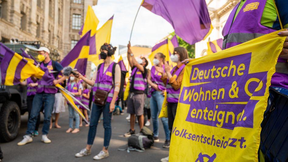 »Deutsche Wohnen enteignen«-Demonstration in Berlin (im Juni)