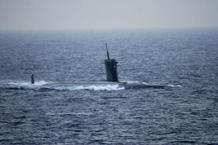 """Amerikanisches Atom-U-Boot """"USS Hartford """""""