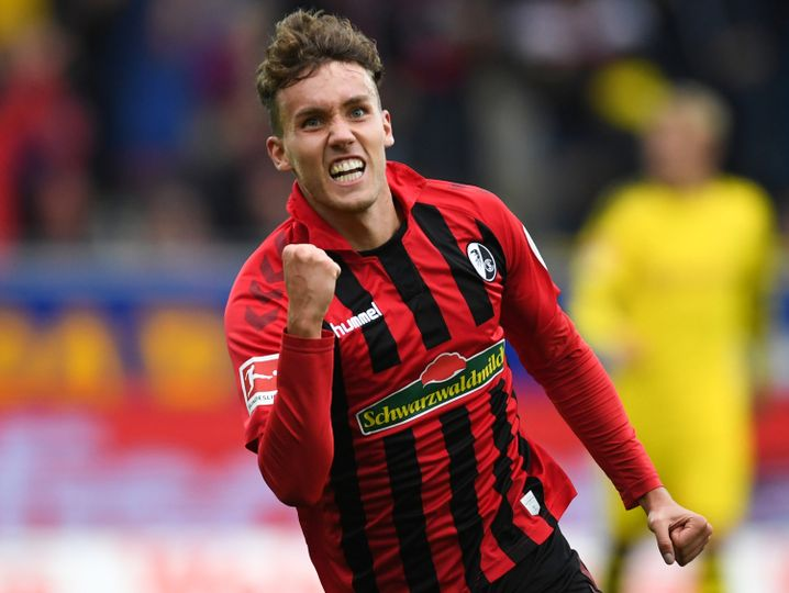 Luca Waldschmidt erzielte gegen Dortmund bereits seinen vierten Saisontreffer